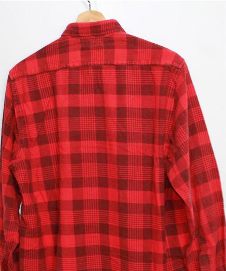 Rebuild by Needles:Ribbon Flannel Shirt - L size #61