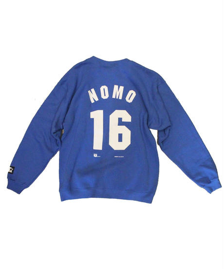Los Angeles Dodgers #16 HIDEO NOMO used long sleeve sweat② - size M