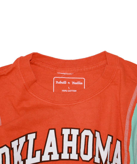 Rebuild by Needles:7 Cuts S/S Tee College #29