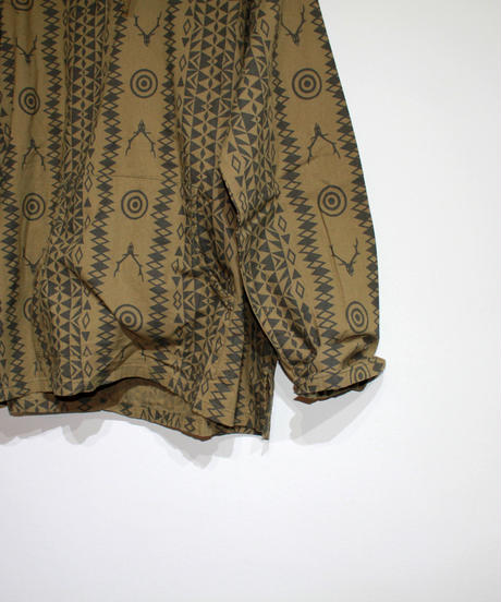 South2 West8:MEXICAN PARKA  PRINTED FLANNEL  CAMOUFLAGE - Skull&Target