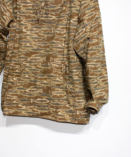 South2 West8:MEXICAN PARKA  PRINTED FLANNEL  CAMOUFLAGE - TROUT
