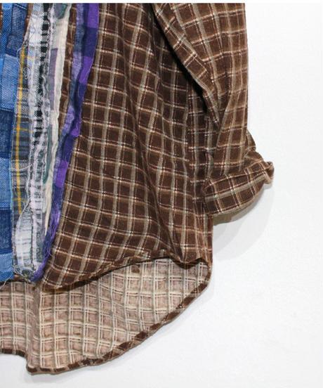 Rebuild by Needles:Ribbon Flannel Shirt - XL size #57