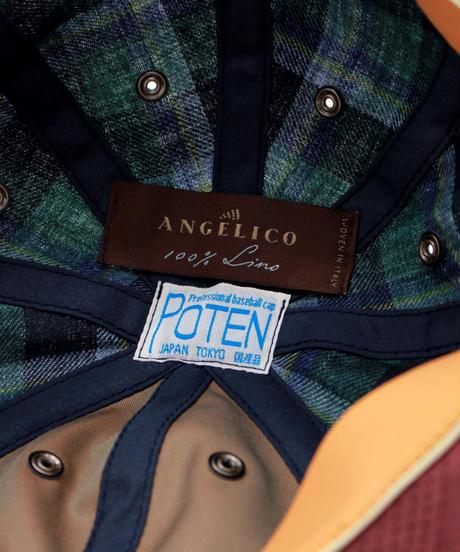 POTEN:ANGELICO LINEN  CHECK