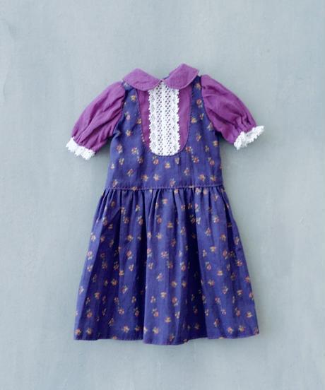 [06/15 予約販売] DIY ジャンパースカートふうワンピースキット(紫色)