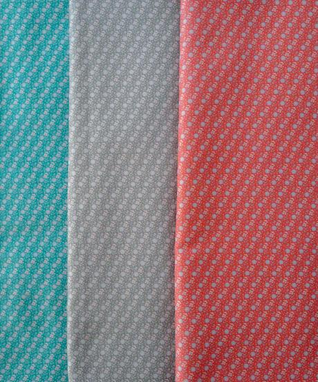 [9/30 予約開始] レント 4色セット ハノンオリジナルファブリック 20cm x 50cm