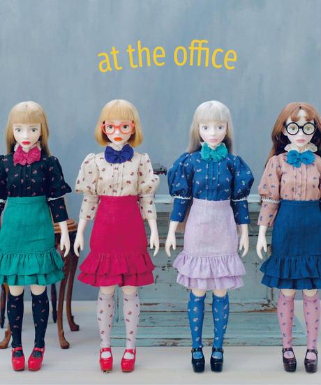 [10/22 予約販売 / 完成品]  'at the office' ドレス