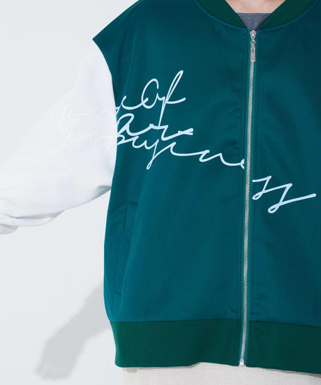 LETTERED BLOUSON 【HP19-BL01】