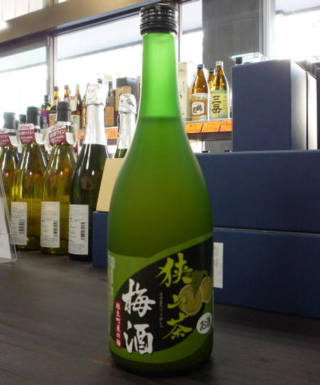狭山茶梅酒 720ml