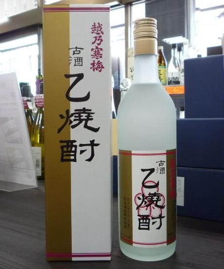 越乃寒梅 古酒乙焼酎 40° 720ml
