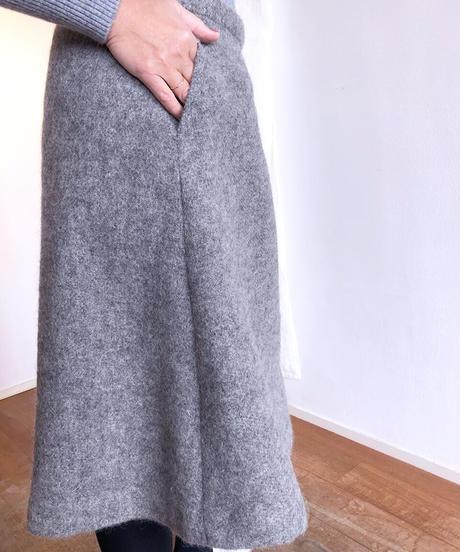 HSSSK029 シルケボーライン入りラップスカート