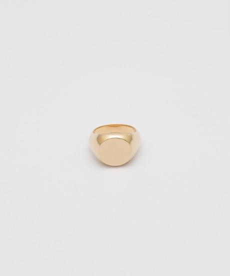 KREIS RING (gold plated)