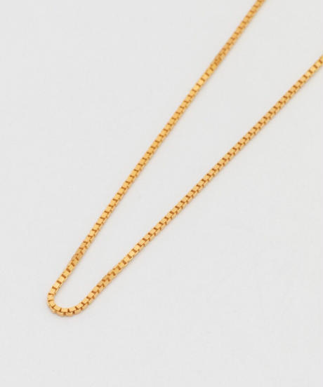 VENETIAN NECKLACE 101 (gold plated)