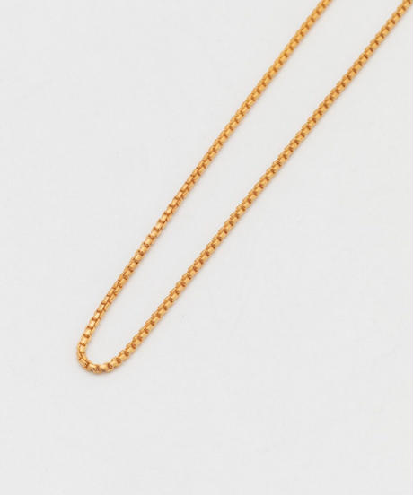 ROUNDED CORNERS NECKLACE 101 (gold plating)