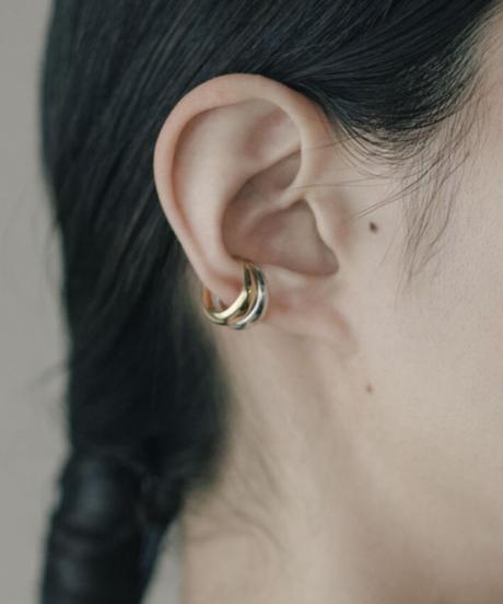 LUNA CRESCENTE EAR CUFF (gold  plated)