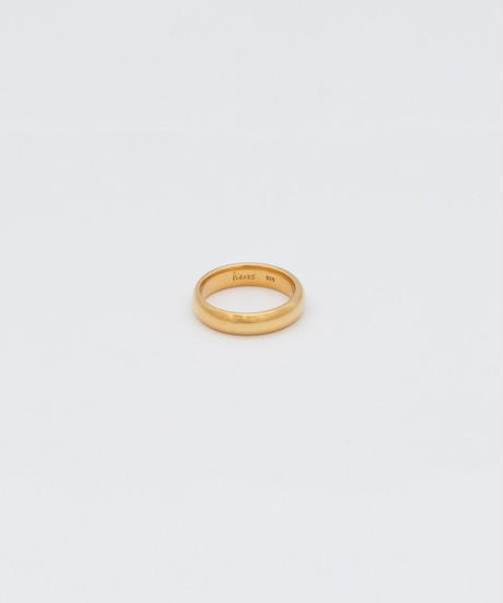 CLASSIC CIRCLE RING 301 (gold plated)