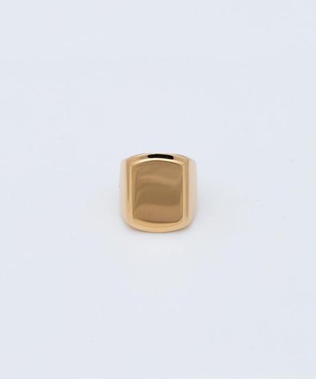 N.M RING (gold plating)
