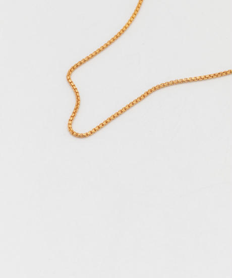 ROUNDED CORNERS NECKLACE 101 (gold plated)