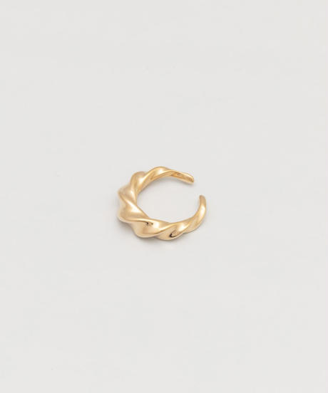 WAVY RING (gold plated)