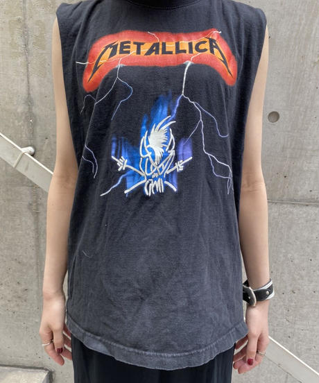 METALLICA  cutoff band T-shirt