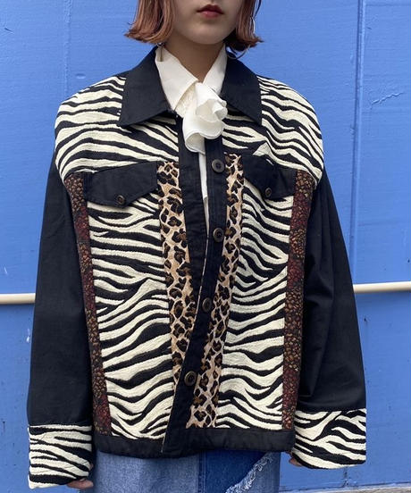 leopard design jacket