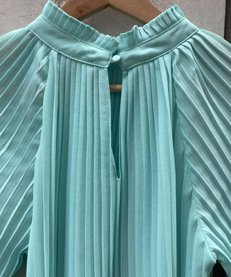 pleats  blouse