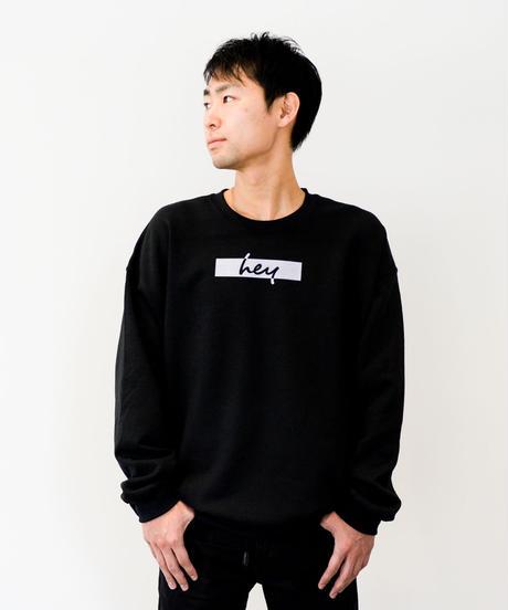 【ユニセックス】2020 SS hey スウェット(Black)