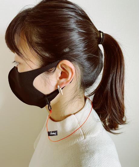 【限定】hey Mask Cord - Orange