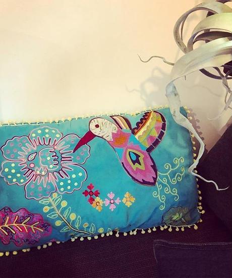 メキシコ刺繍ビッグクッション Mexican Big Cushion
