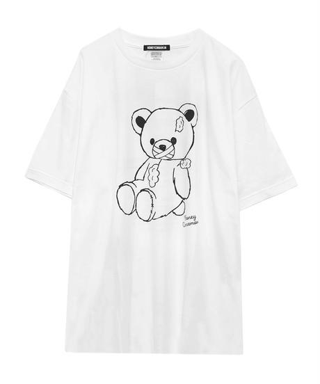 193CS0759 【再入荷】<Unisex>ハミダシモノシナモンTシャツ
