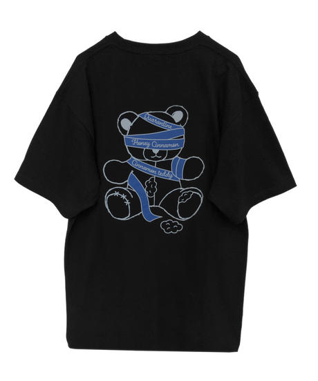 193CS0761 <Unisex>グルグルシナモンTシャツ