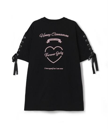 HC212CS0536 ハートあきロゴTシャツ