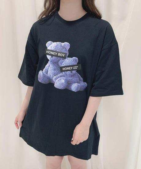 HC213CS0753<unisex> ブルーBearsTシャツ