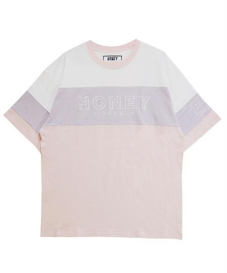 192CS0421【再入荷】<Unisex>切替リンガーTシャツ