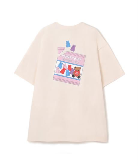 HC212CS0431<unisex> GUMMY BEAR Tシャツ