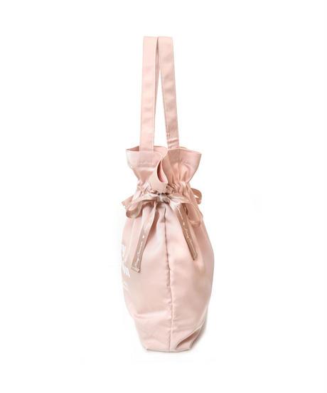 【期間限定20%OFF】 204BC1031 ロゴプリント巾着トートバッグ