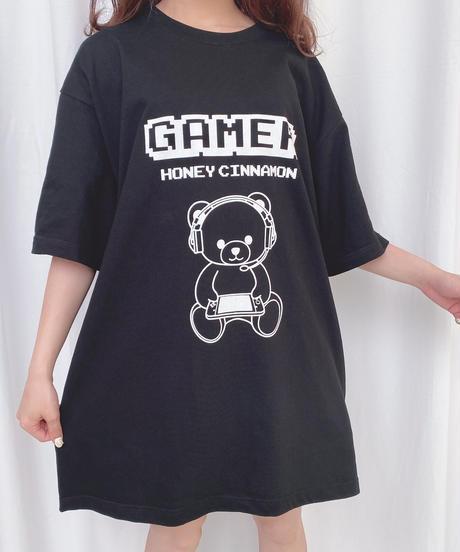 HC202CS0670<unisex> GAMERシナモンTシャツ