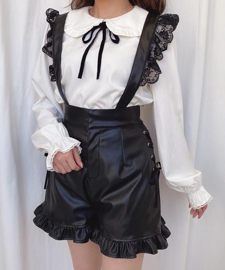 HC204TP1127 丸衿刺繍トップス