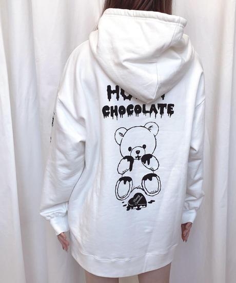 HC211CS0101<unisex> チョコレートシナモンプルパーカー