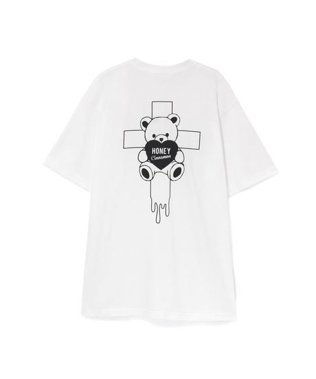 HC213CS0799<unisex> 十字架シナモンTシャツ