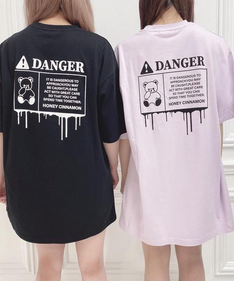 HC212CS0430<unisex> グラデロゴシナモンTシャツ
