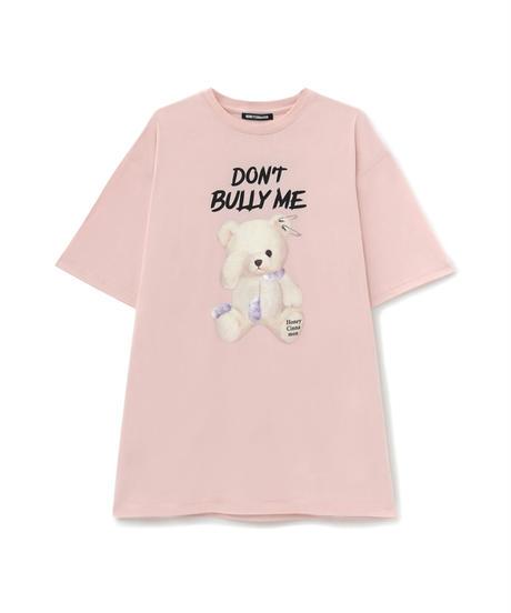 HC212CS0646<unisex> Don't BullyシナモンTシャツ