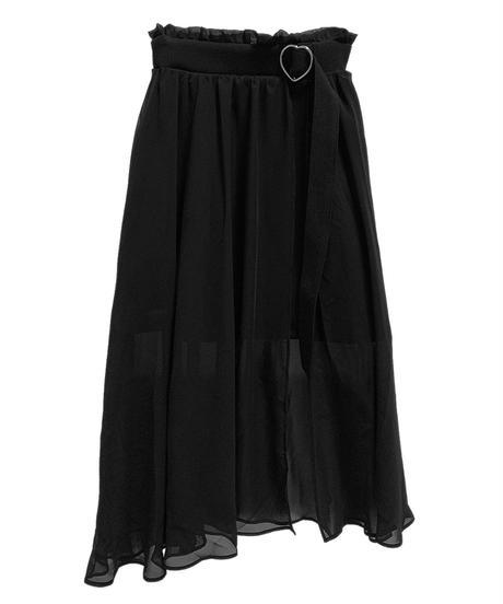 193SK0730 【再入荷】フレアラップスカート