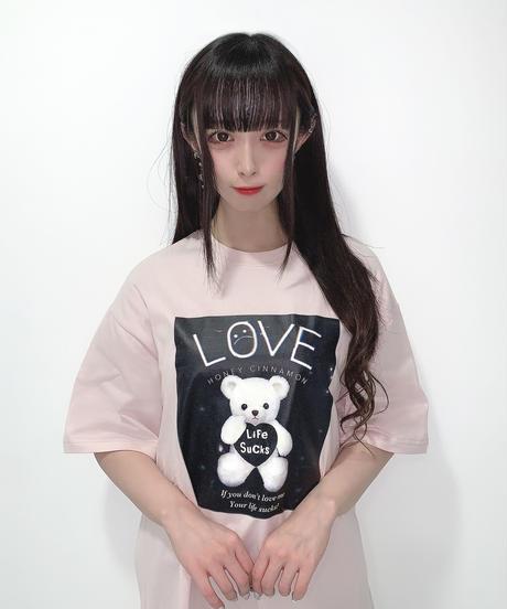 HC213CS0756<unisex> LOVE ME BOX Tシャツ