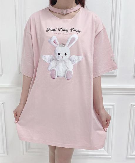HC212CS0428 Angel honey チョーカーTシャツ
