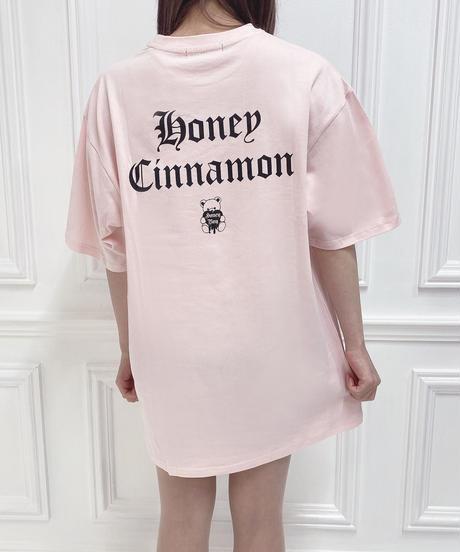HC212CS0429<unisex> モノグラムシナモンTシャツ