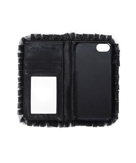193BC0925 ハートドットフリルiPhoneケース