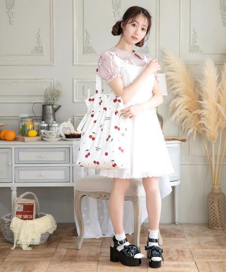 HC212BC0516 fruit柄巾着バッグ