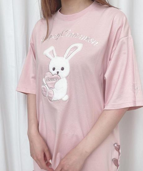 203CS0857 【再入荷】ハニーアップリケTシャツ