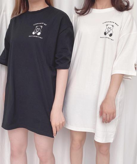 203CS0860【再入荷】<unisex>HONEY ICE CREAM Tシャツ