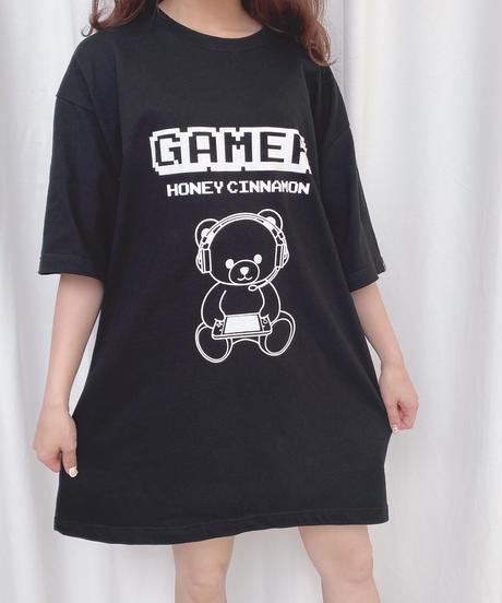HC202CS0670 <unisex>GAMERシナモンTシャツ